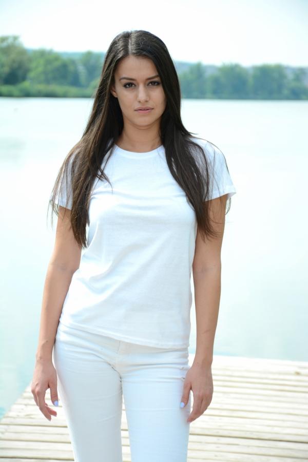 Keya 150-T női T-shirt, white, S méret
