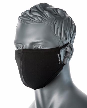 Kétrétegű antimikrobális maszk