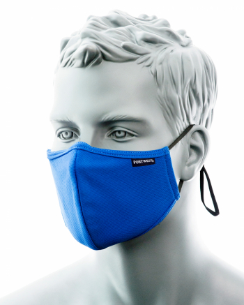 2-ply face mask with nose band (25 pcs/box)