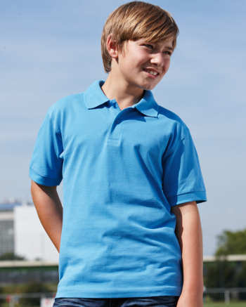 Classic Junior gyermek galléros póló