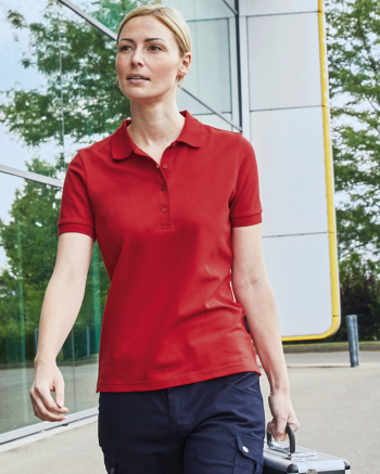 SOLID Ladies' BIO Stretch-Polo