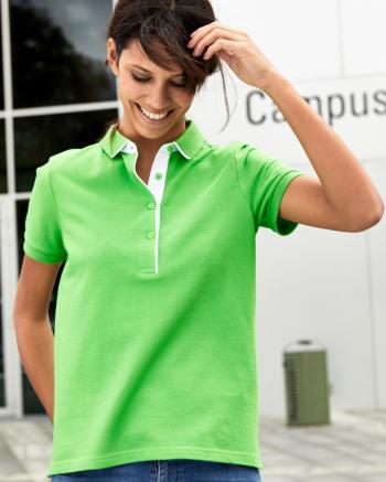 Single Stripe női piké póló