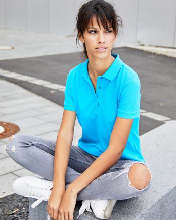 Basic női galléros póló