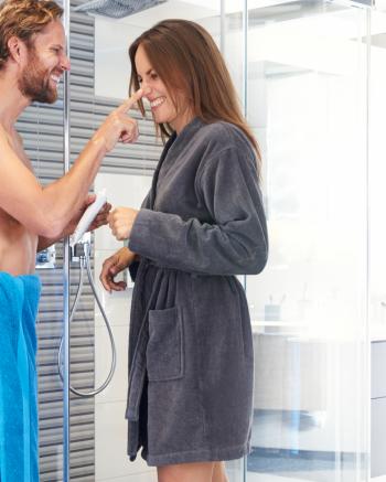 Biopamut női fürdőköpeny