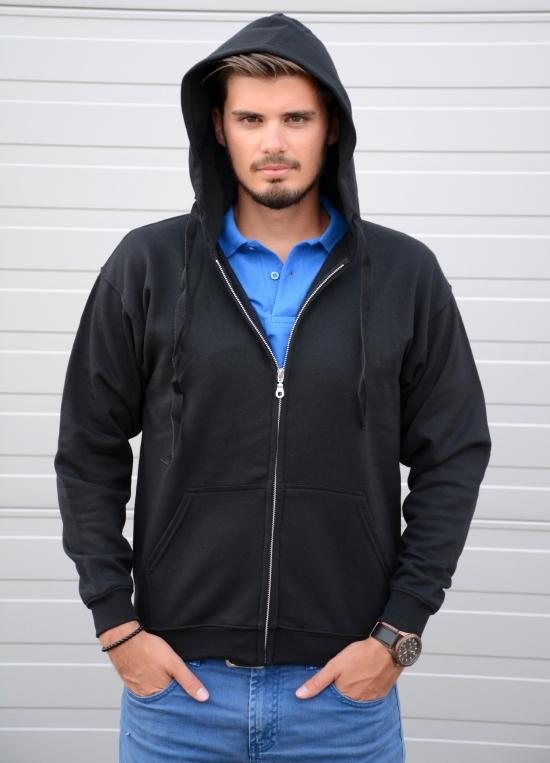Keya SWZ280 Hooded Zip kapucnis pulóver