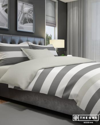 Bed Set Stripe, king size beds