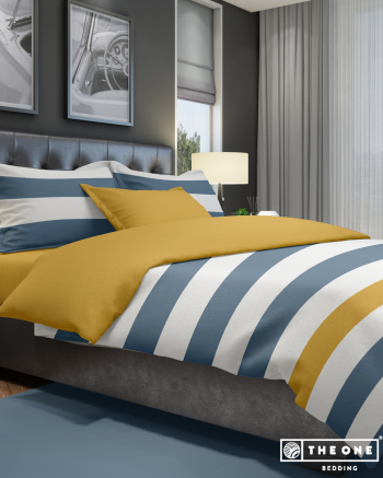 Bed Set Stripe, single beds